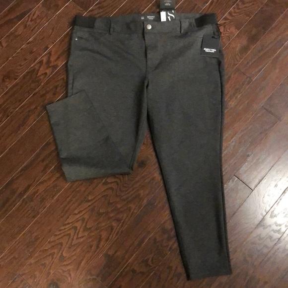 685e45f009f Plus Size SIMPLY VERA WANG Skinny Ponte Pants